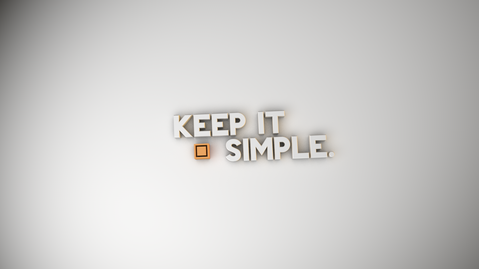 Keep Simple Wallpaper Free Download