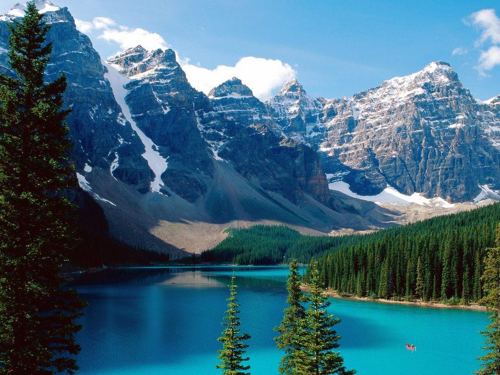 Lake Wallpaper Blue High Definition