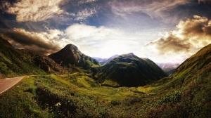Landscape Background Mountain HD Desktop