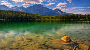Landscape Green Lake Wallpapers 1080p