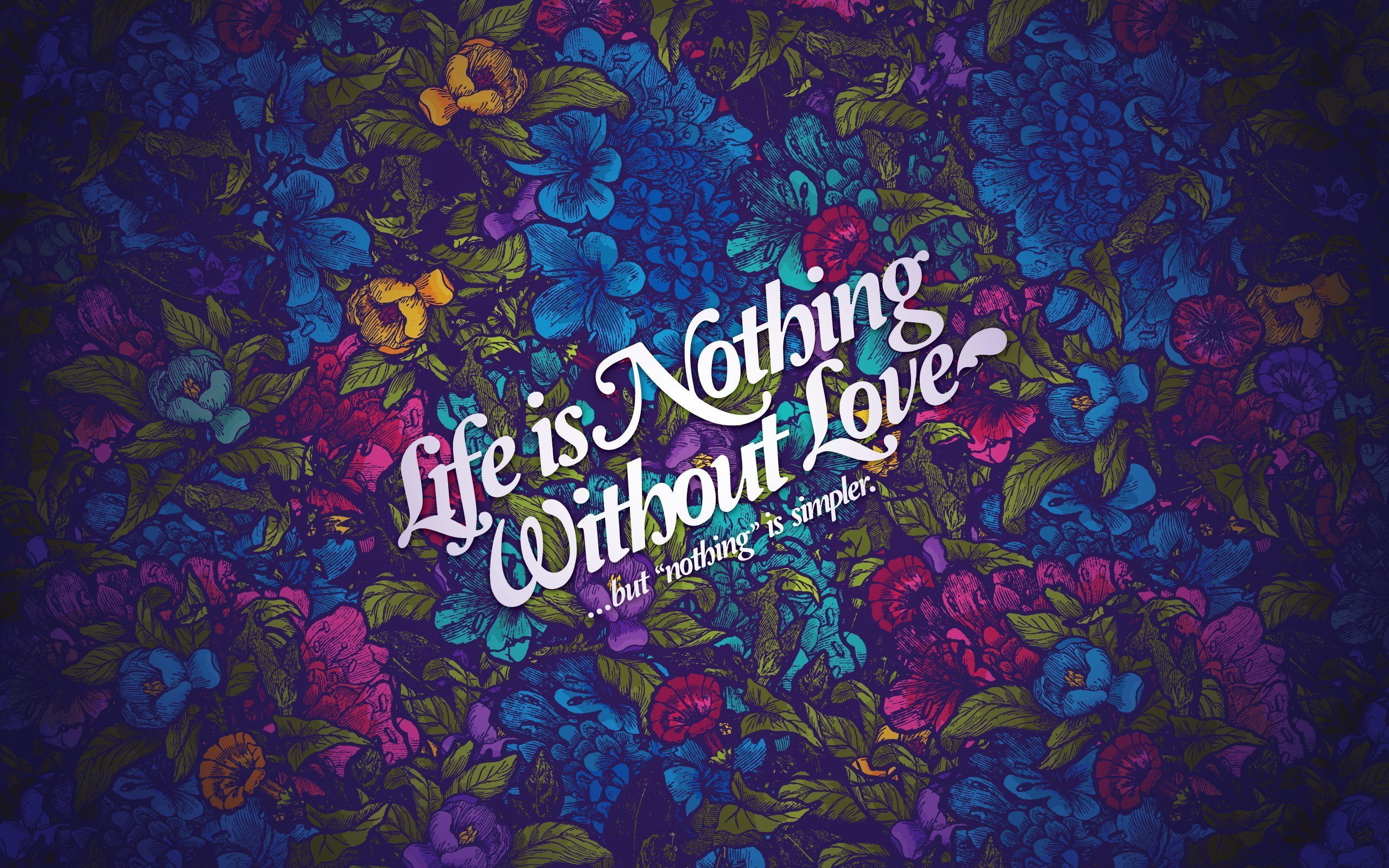 Life Without Love Wallpaper