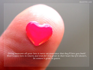Love Quotes Wallpaper Desktop PC