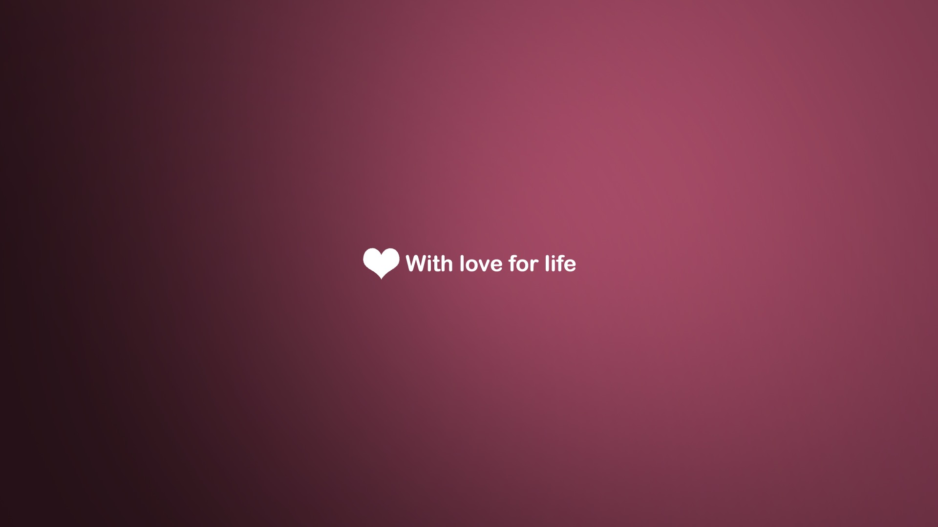 Love Wallpaper Pink Heart HD