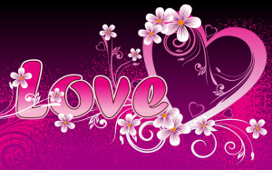 Lovely Love Wallpaper Fullscreen