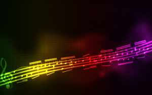 Music Abstract Wallpaper Note