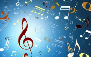 Music Rain Wallpaper High Definition