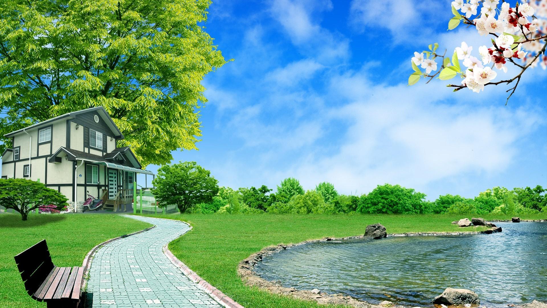Nature 3D Wallpaper Image Pics