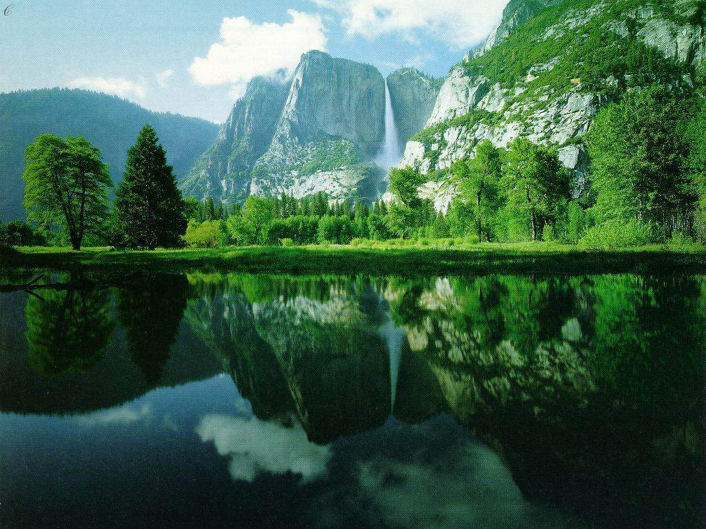 Nature Background Wallpaper Lake