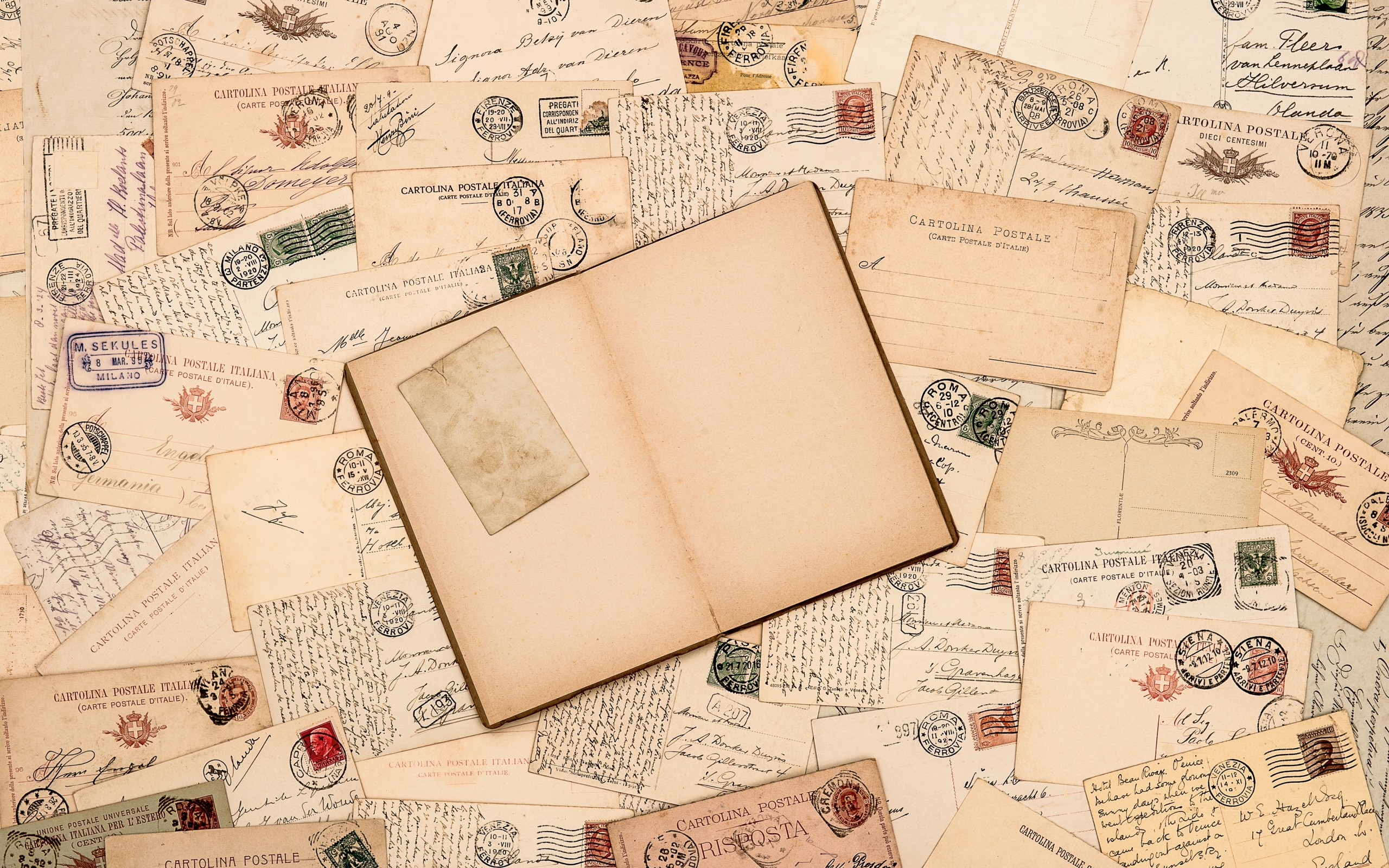 Stamps Vintage Wallpapers HD