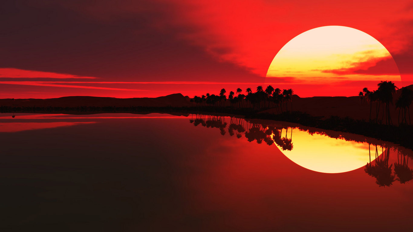 Sunrise Wallpaper Supersun
