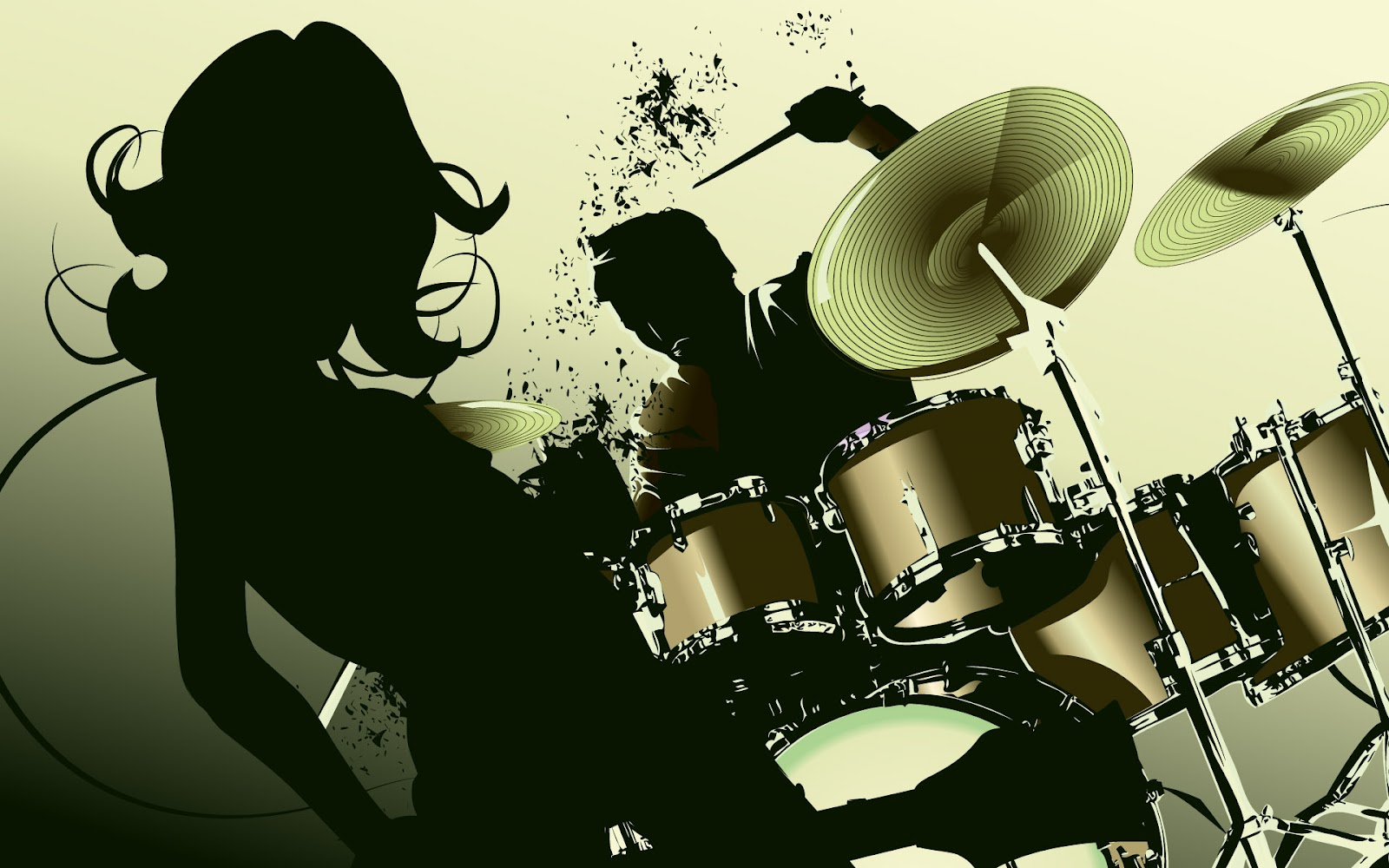 Vector Drums Wallpapers HD