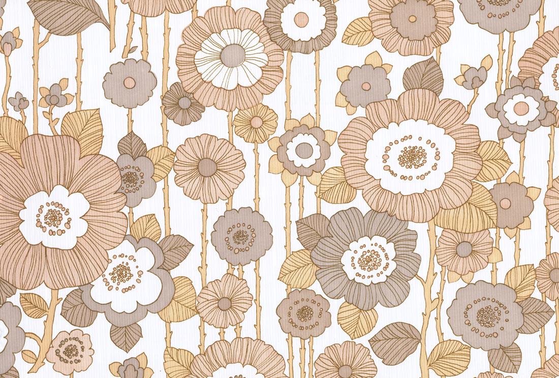 Vintage Wallpaper Brown Free Download