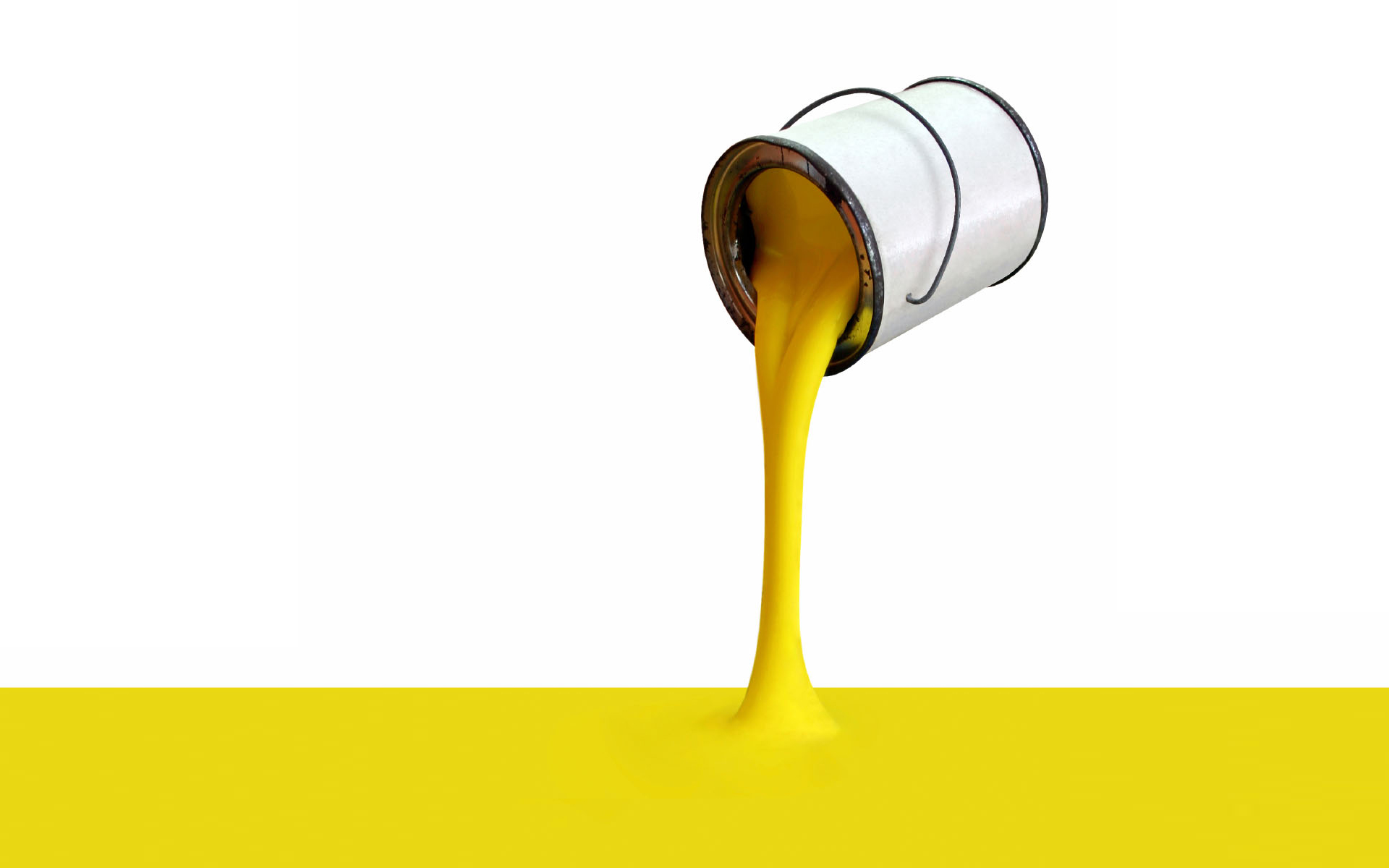 Yellow 3D Paint Wallpapers HD