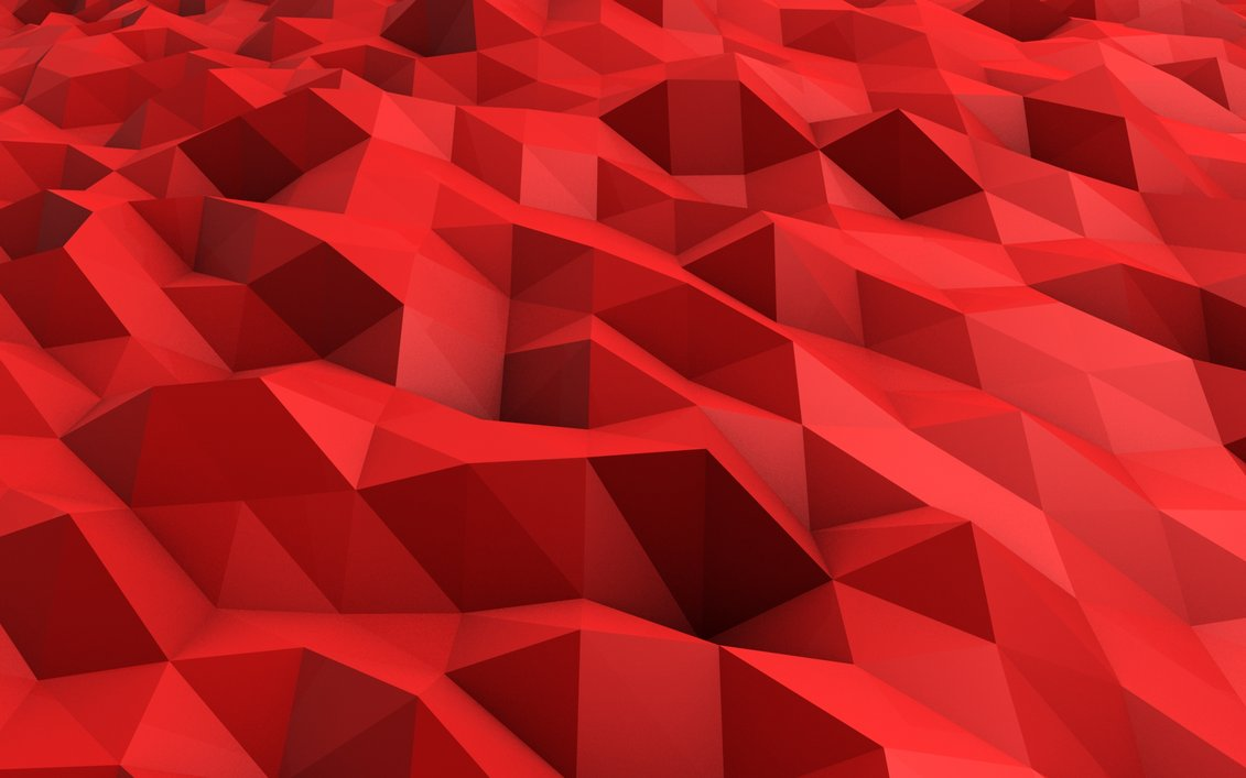 3D Red Abstract Wallpapers