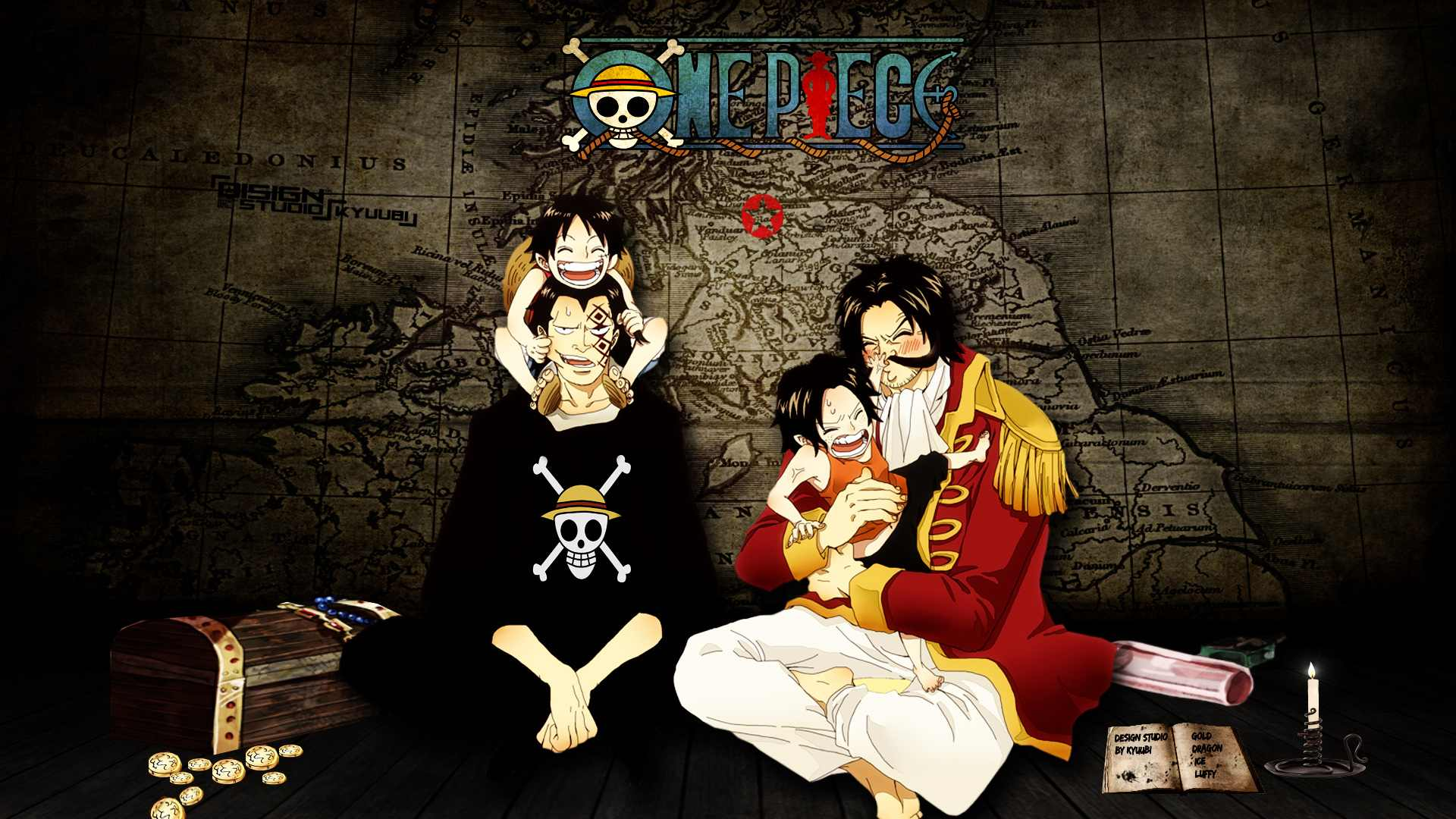 Ace Luffy Wallpapers One Piece