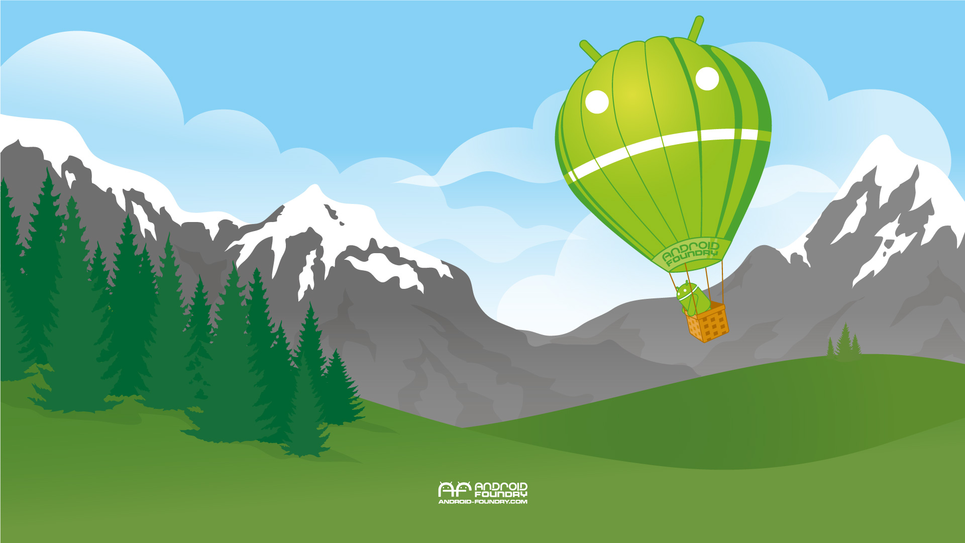 Android Balloon Wallpapers HD