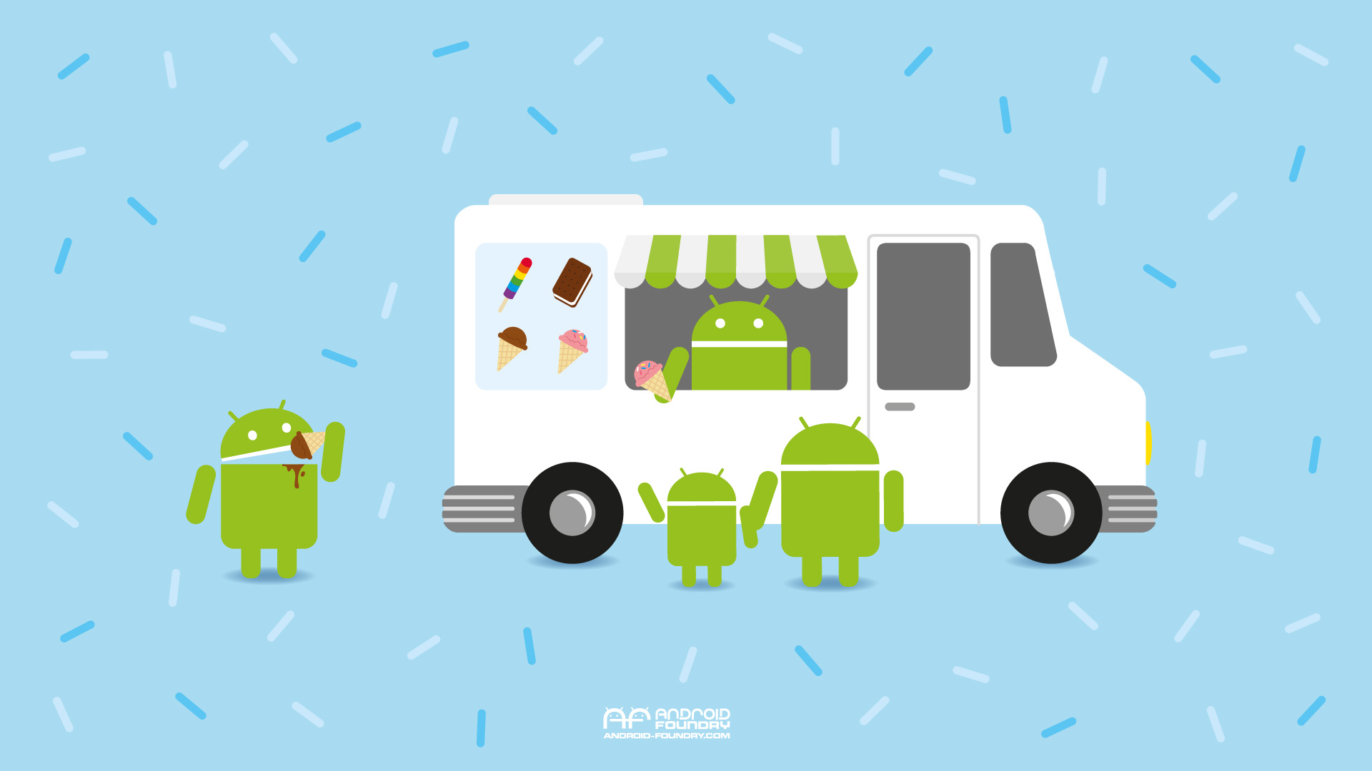 Android Wallpaper Ice Cream