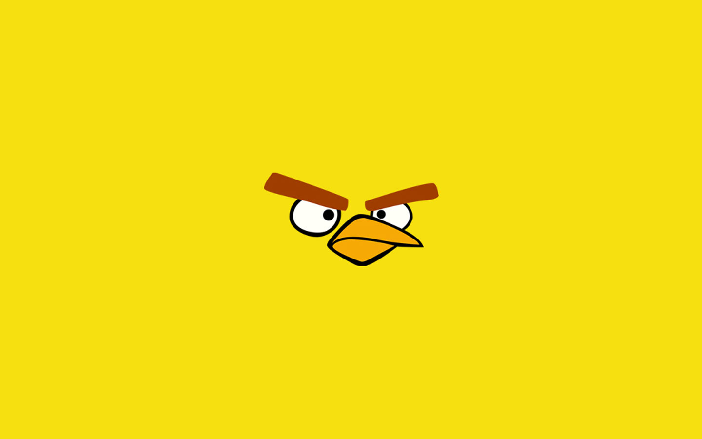 Angry Bird Yellow Wallpapers