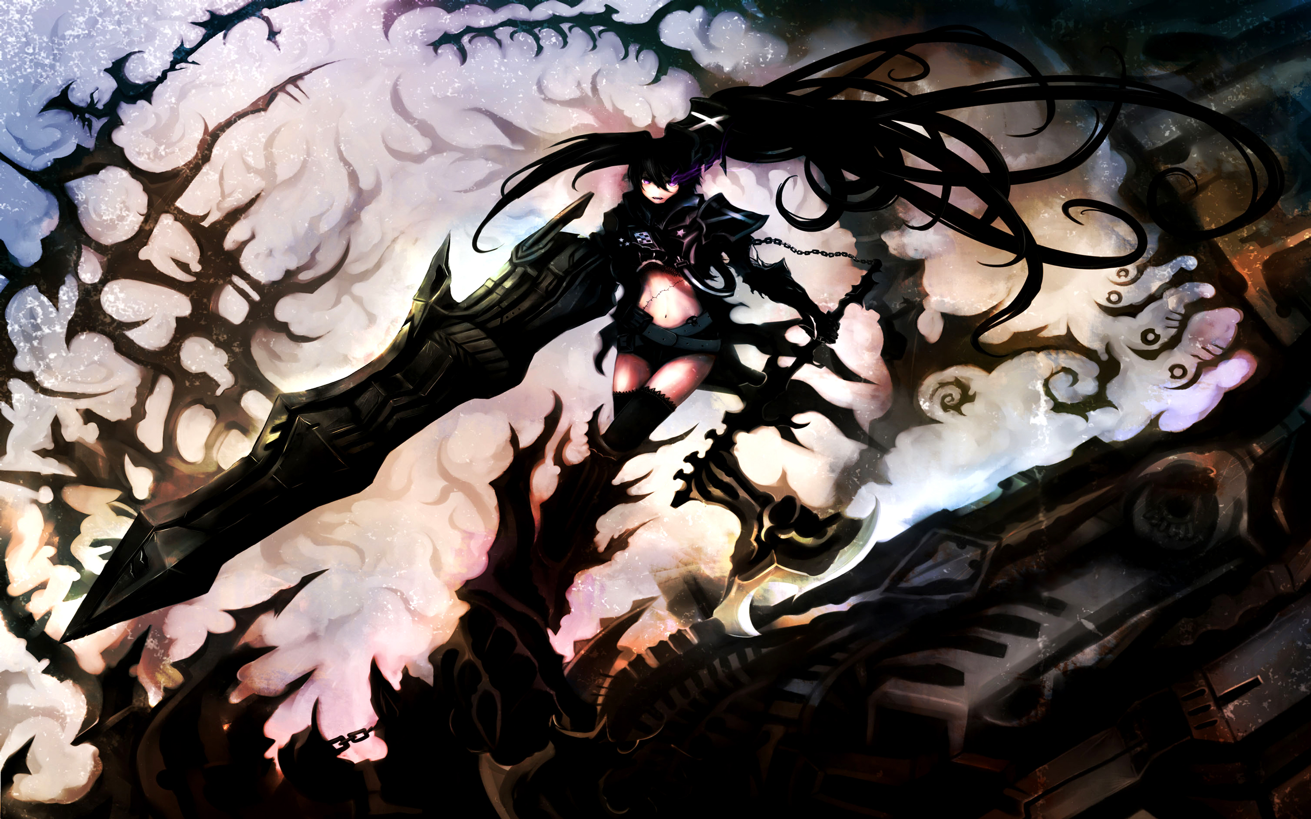 Black Rock Shooter Wallpaper Black Rock Shooter Wallpaper Black Rock ...