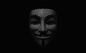 Anonymous Black Wallpaper Desktop
