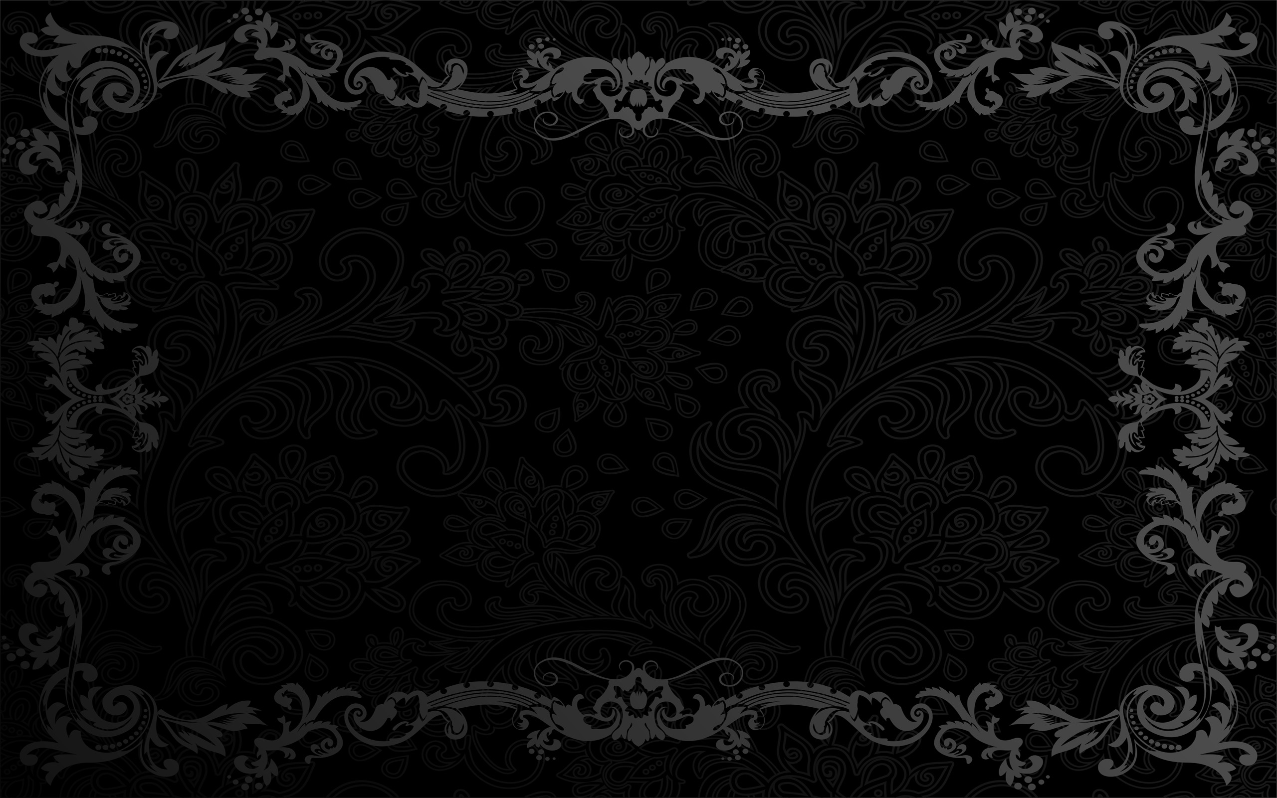 Black Wallpaper Windows HD