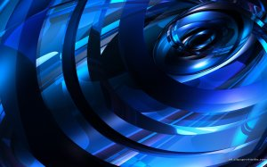 Blue Wallpaper 1920x1200 Free Download