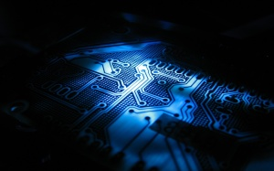 Blue Wallpaper CPU Computer