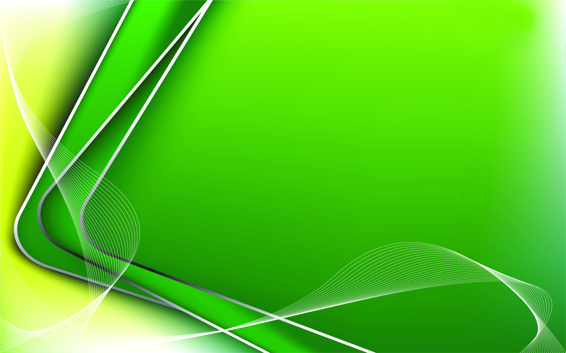 Color Abstract Wallpaper Green HD