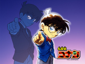 Conan Detective 1024p Wallpaper
