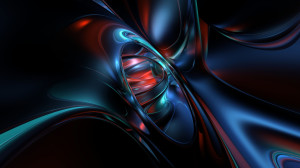 Dark 3D Abstract Wallpaper