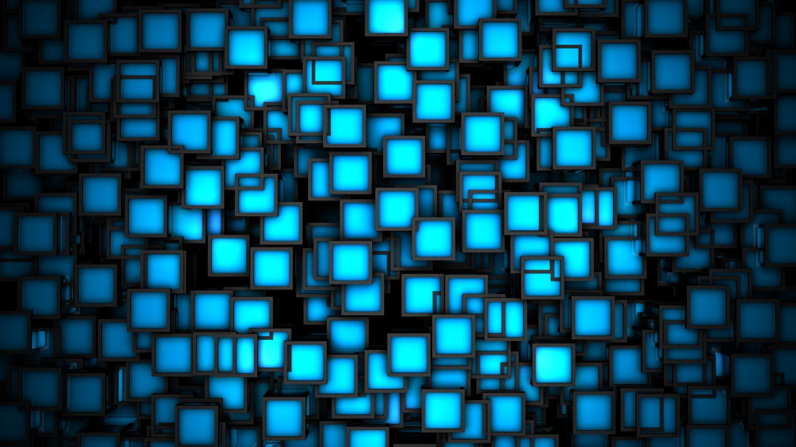 Dark Blue 3D Wallpapers