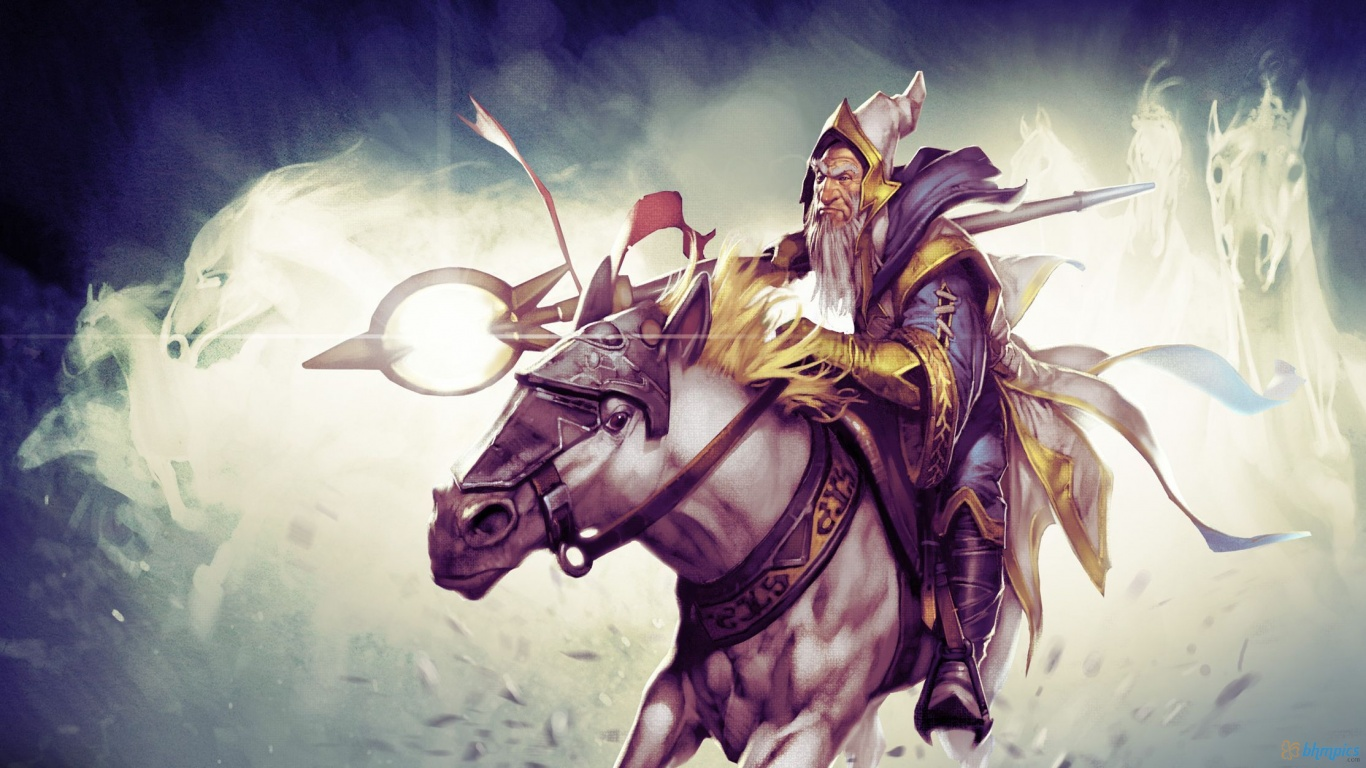 Dota Wallpaper 1366×768 Free Download