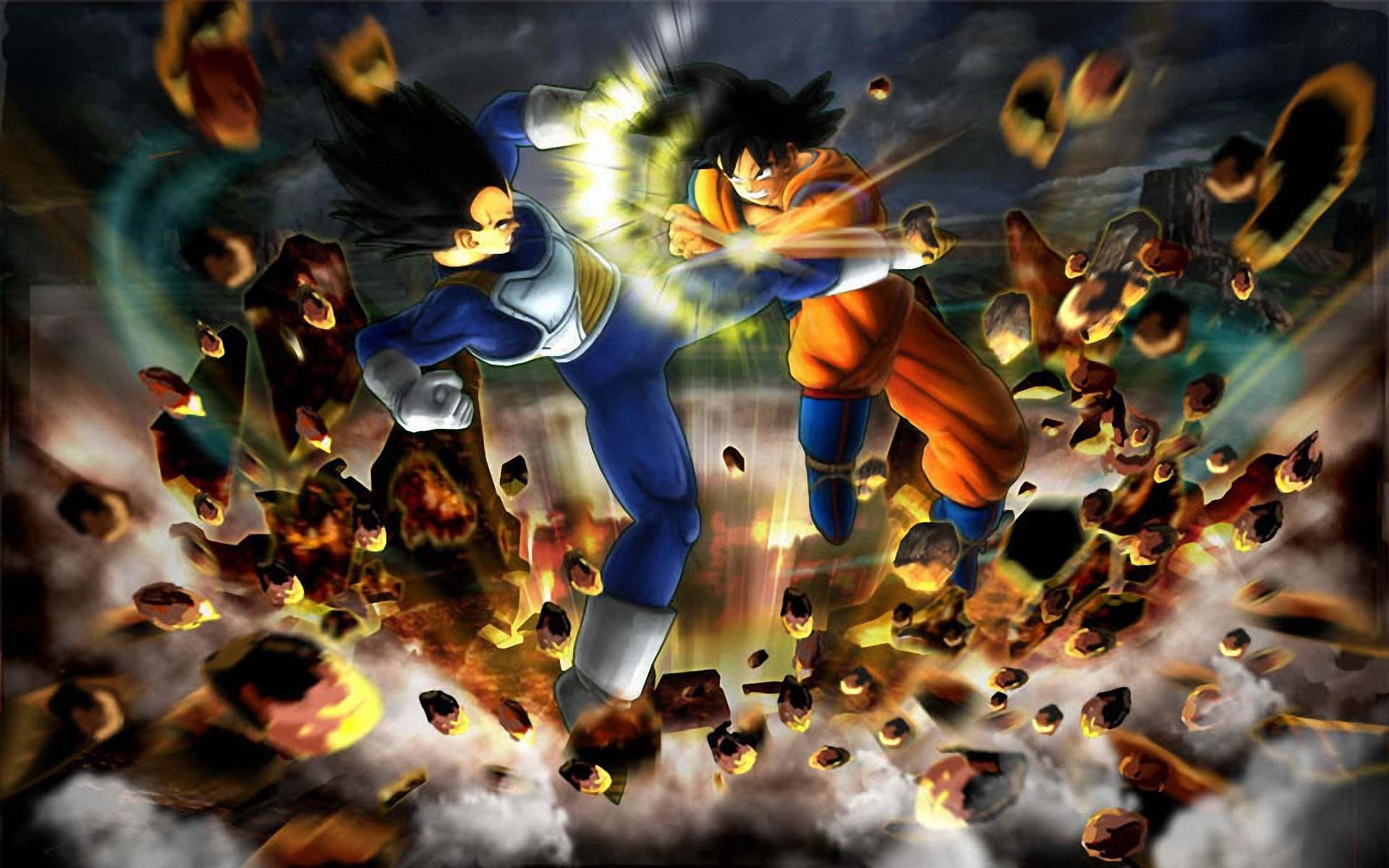 Dragon Ball Z Wallpaper Versus Background