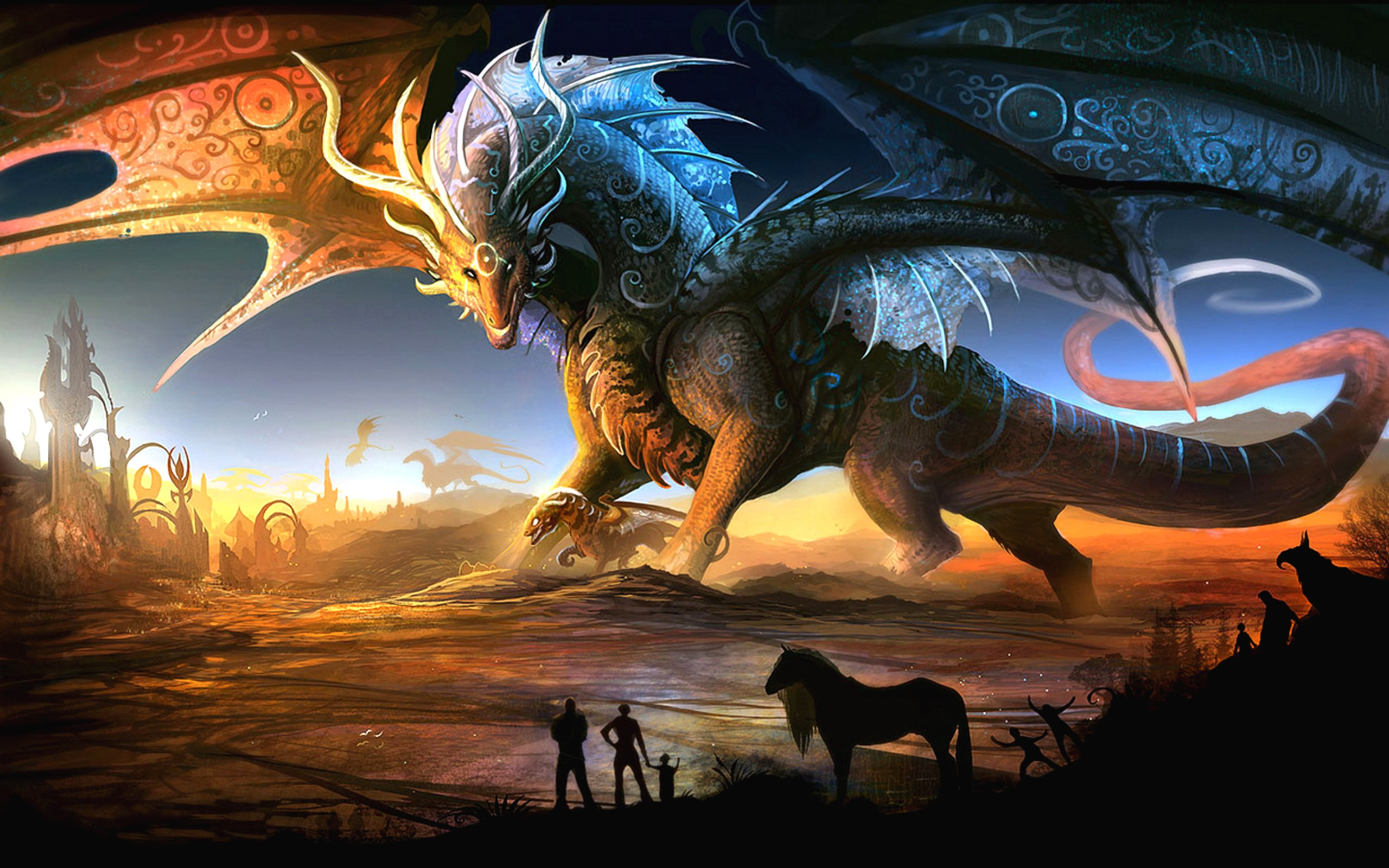 Dragon Fantasy Wallpaper Games
