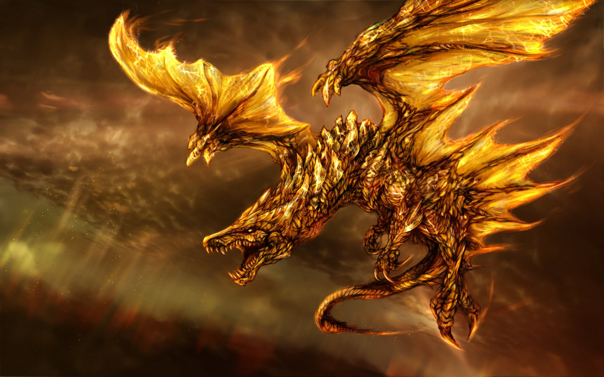 Dragon Fire Wallpapers HD