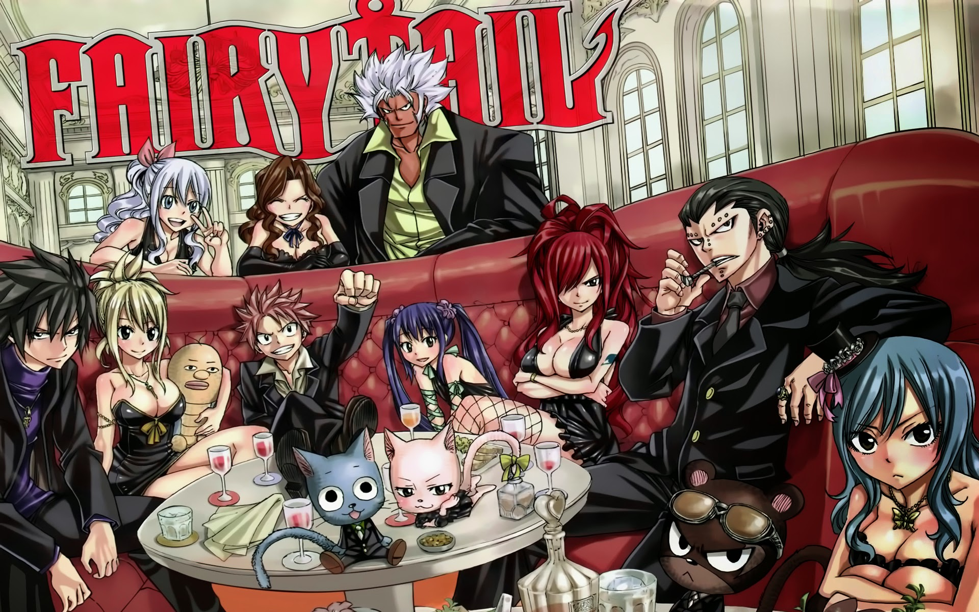 Fairy Tail Guild Wallpaper Hd Fairy Tail Wallpaper A...