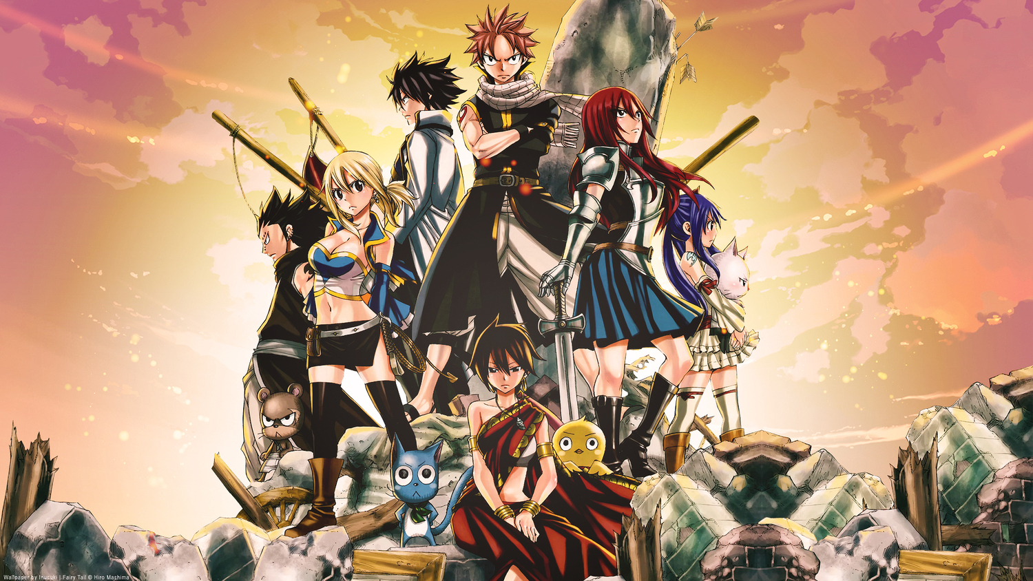 Fairy Tail Wallpapers HD #5902 Wallpaper