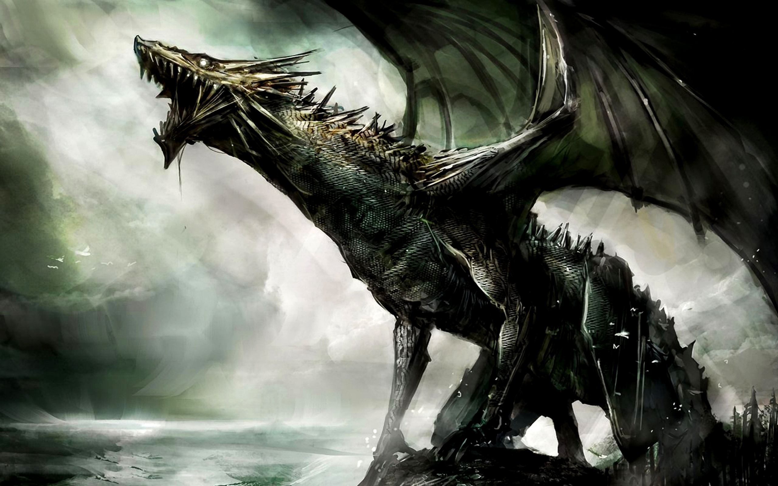 Fantasy Dragon Wallpaper Image Picture