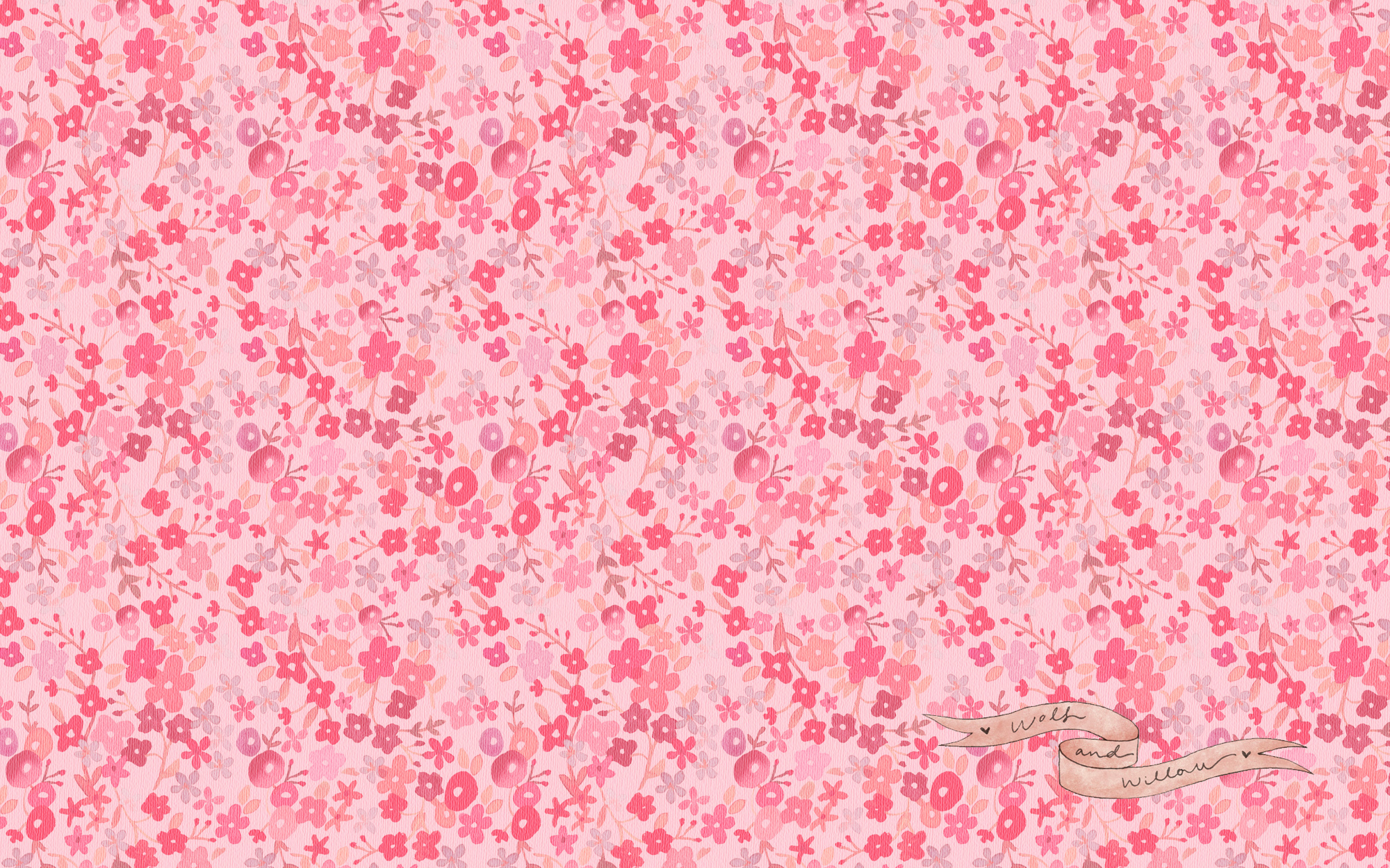 Flowers Floral Wallpaper Retro