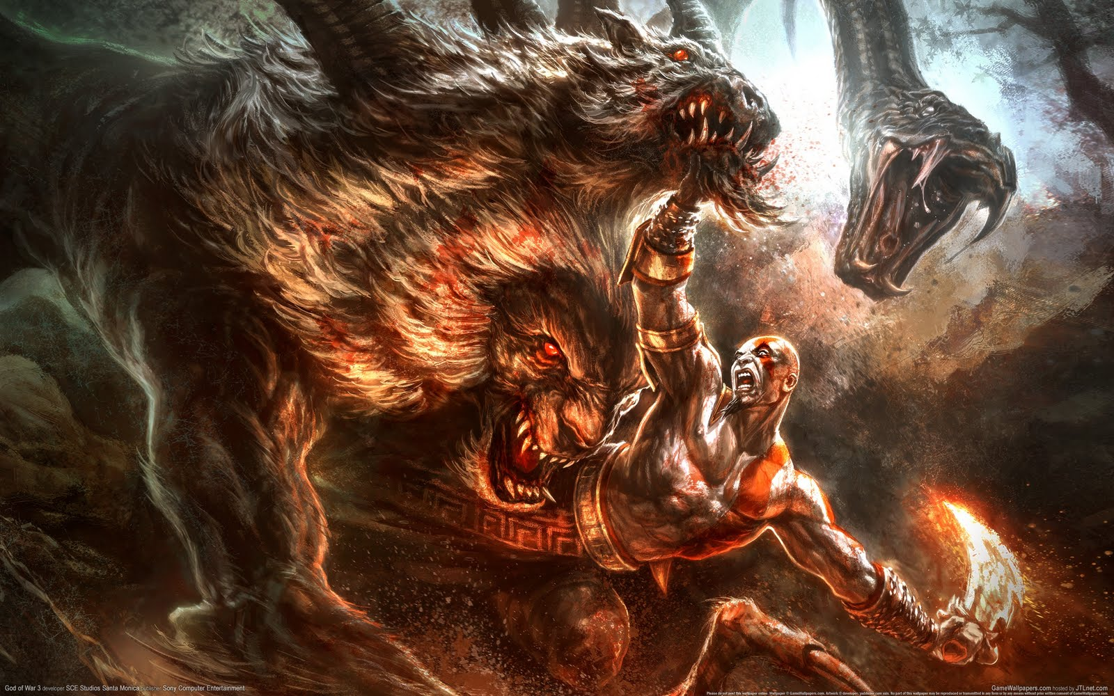 God Of War Wallpaper 2560×1600