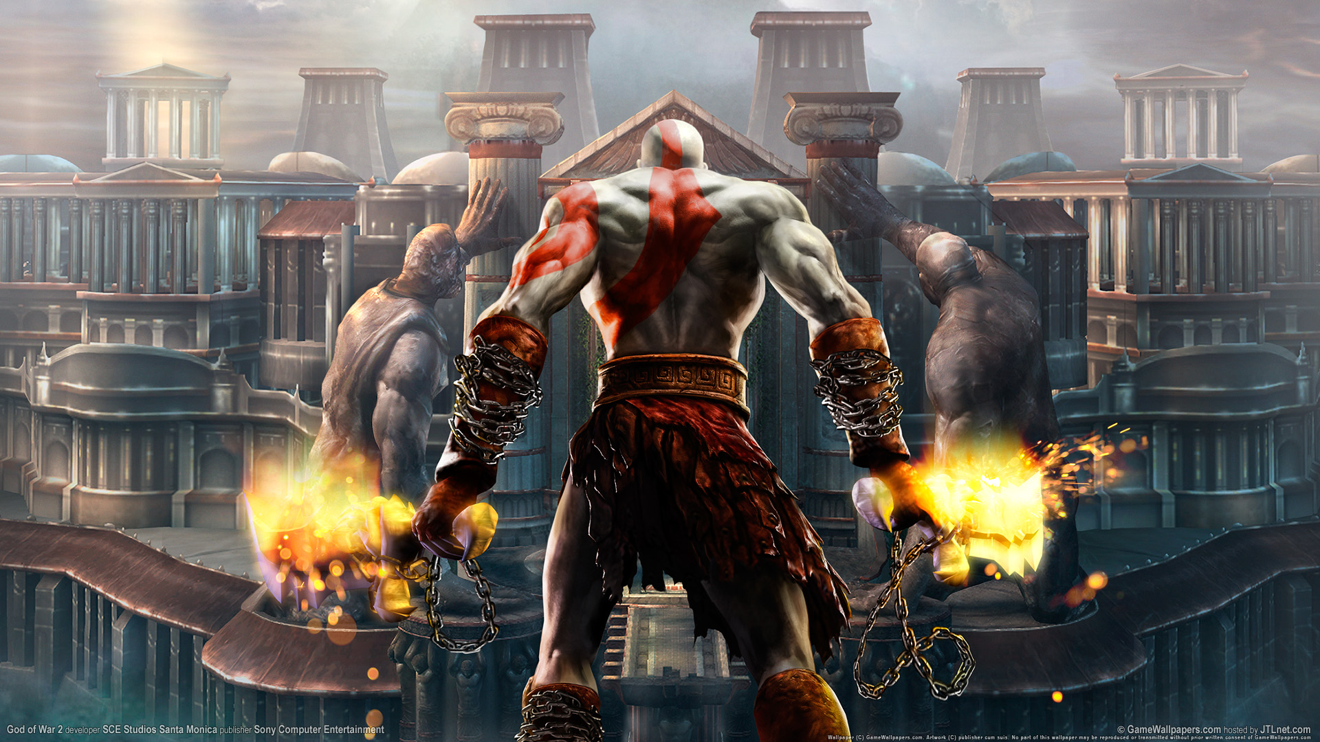 God Of War Wallpaper Desktop PC