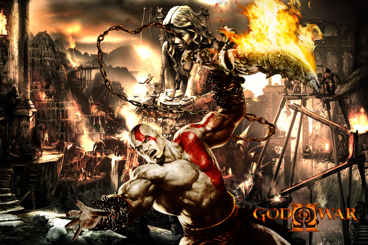 God Of War Wallpaper Warior