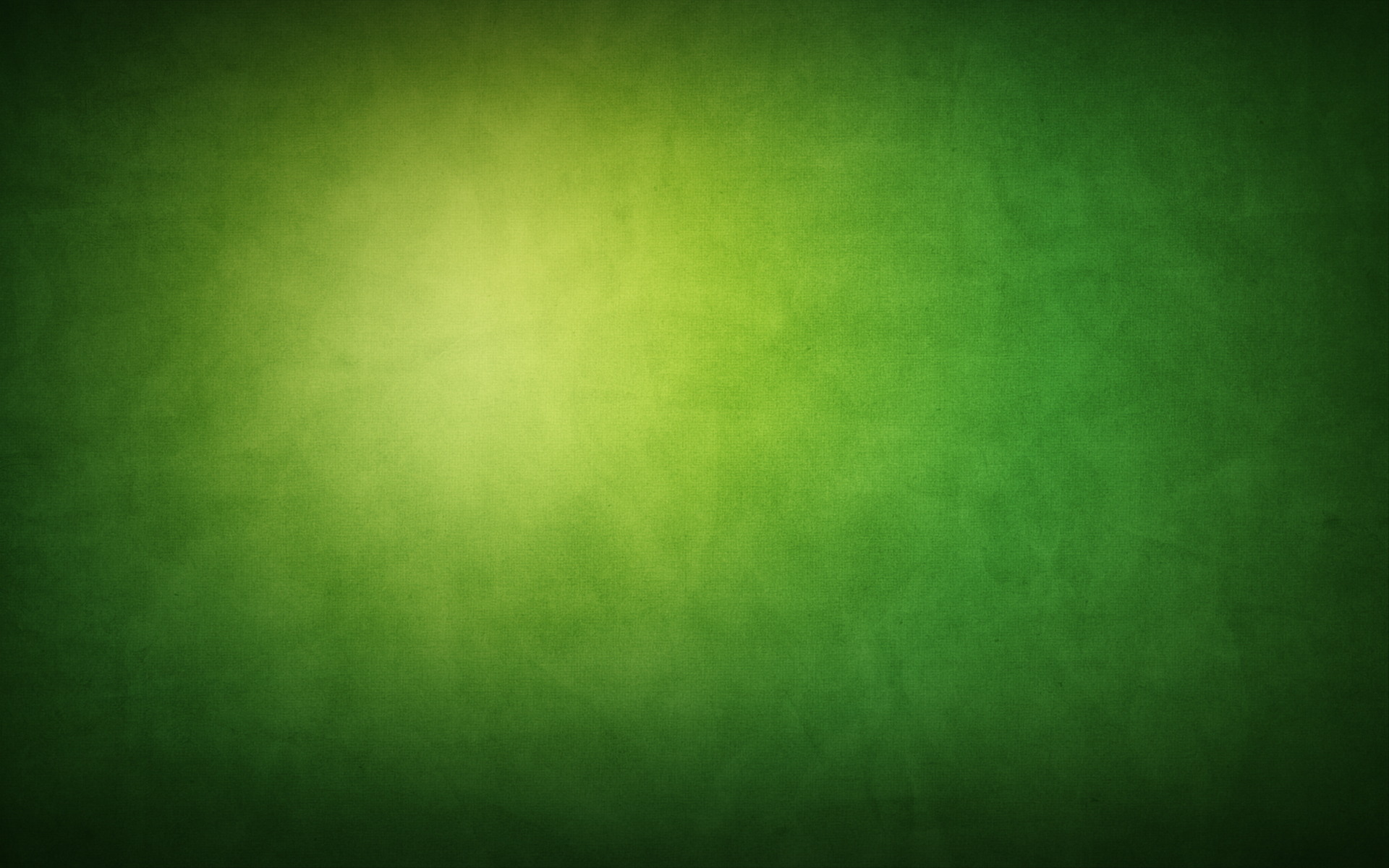 Green Background PC Computer