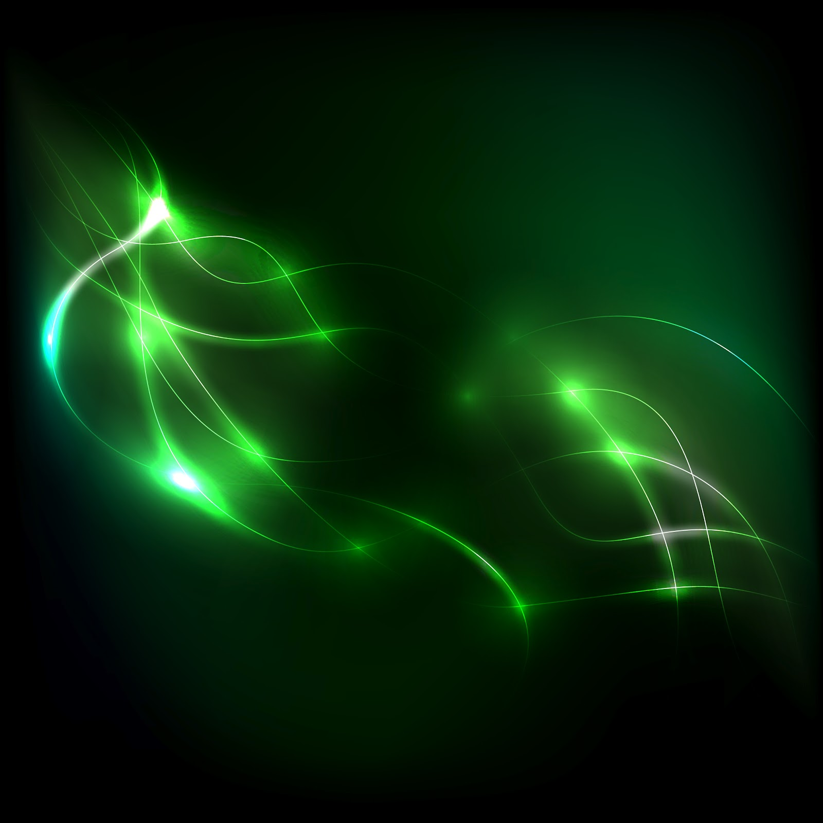 Green Background Widescreen HD