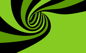 Green Spiral Wallpaper 2560x1600