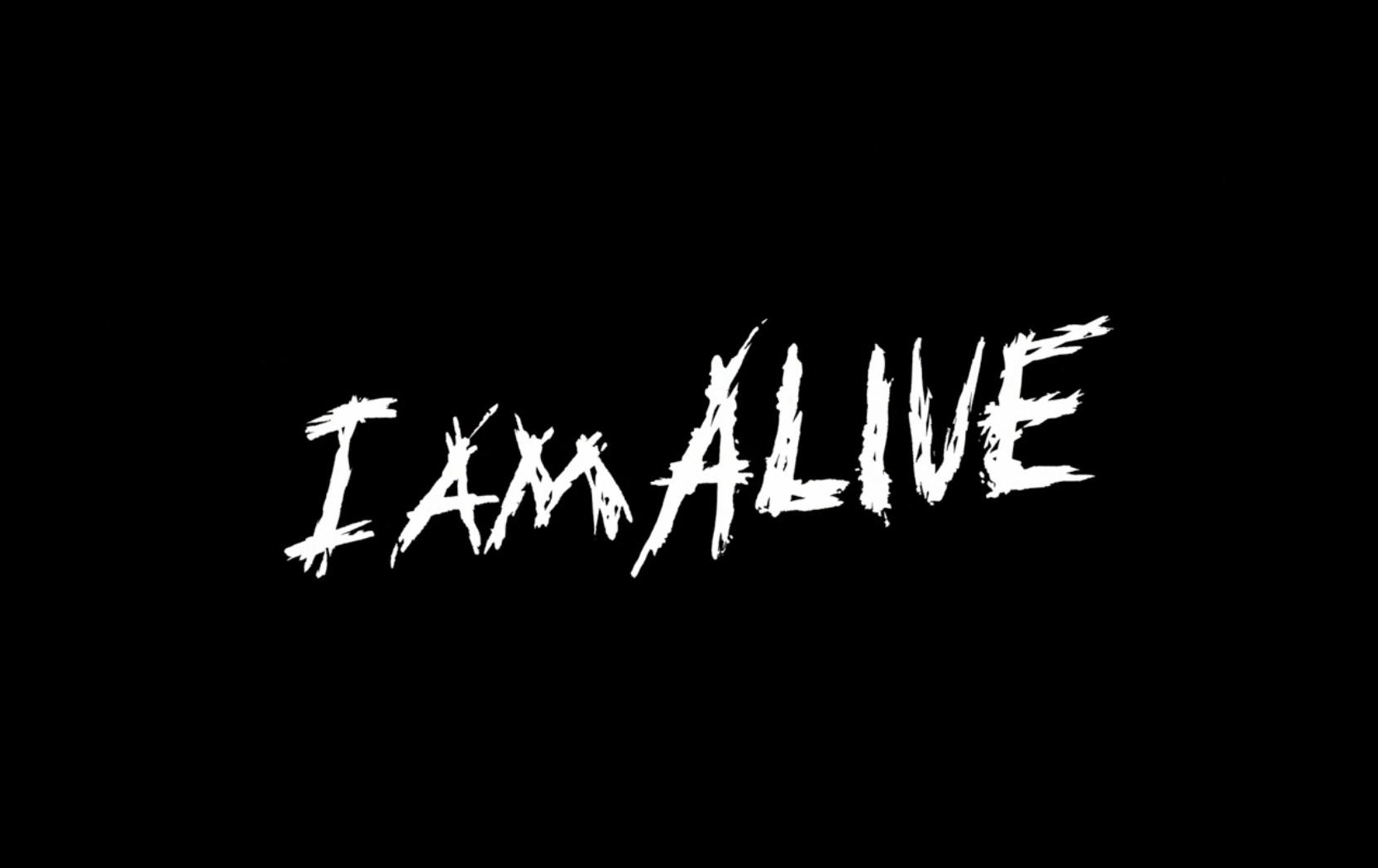 I Am Alive Logo Wallpaper