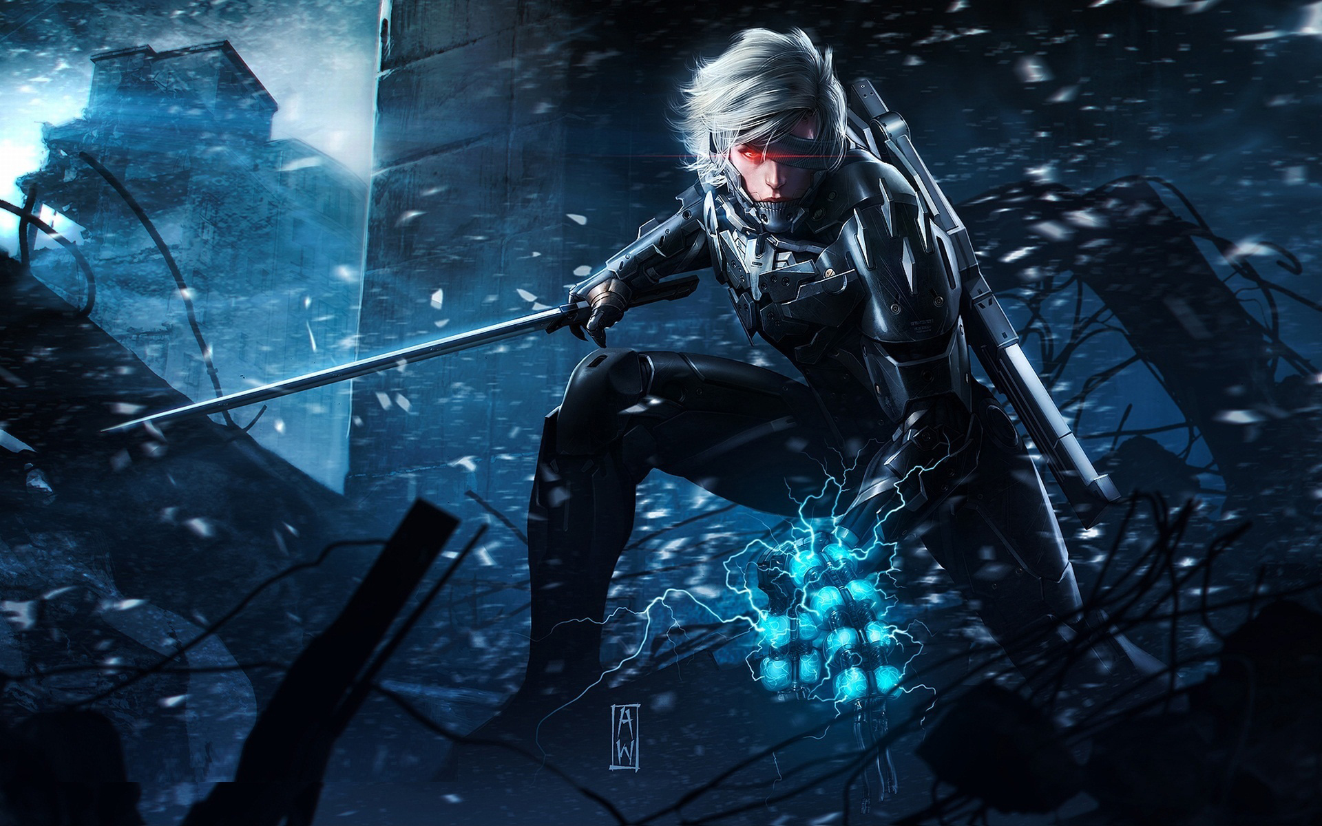 Metal Gear Rising Wallpaper Games