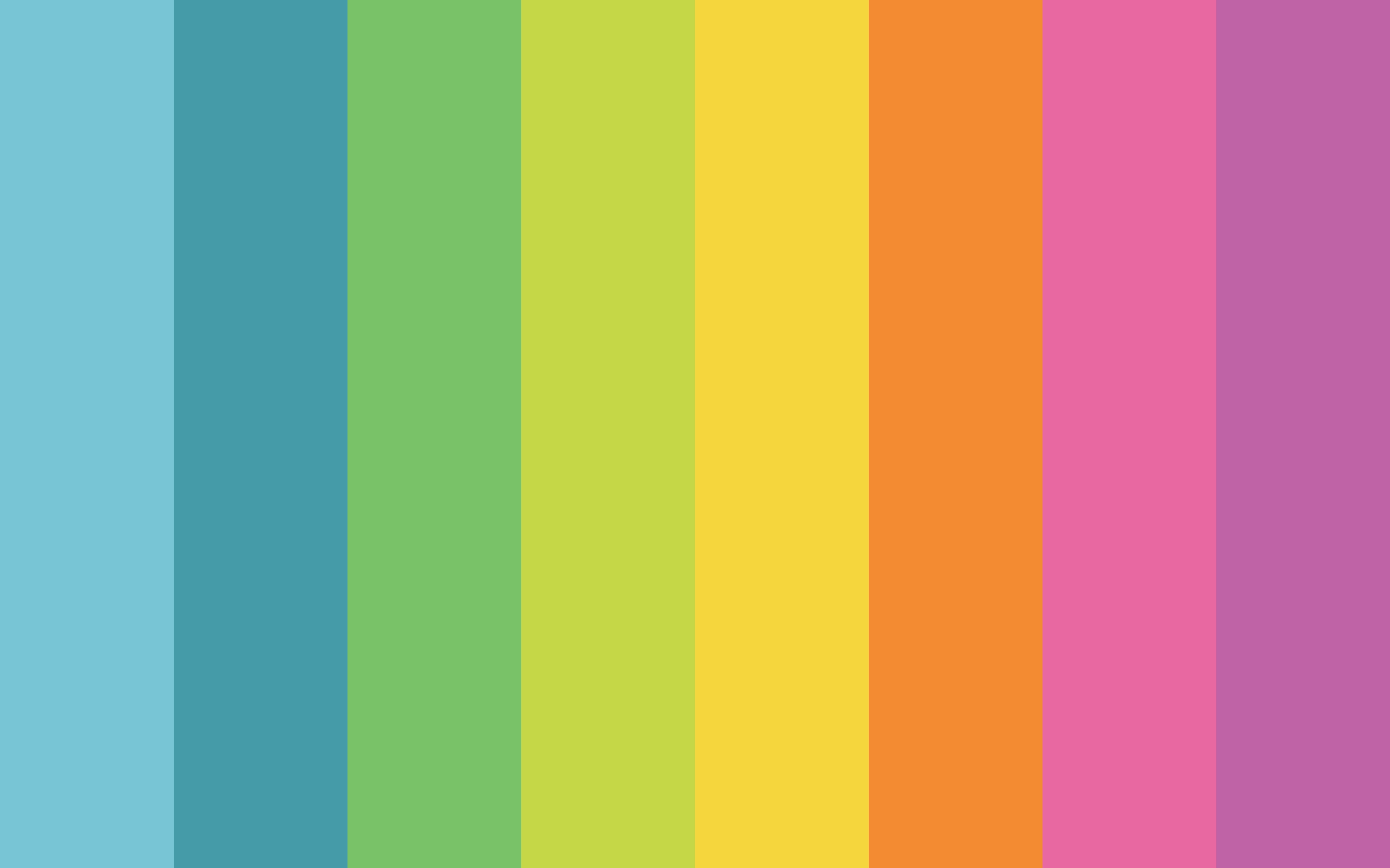 Minimal Rainbow Wallpapers