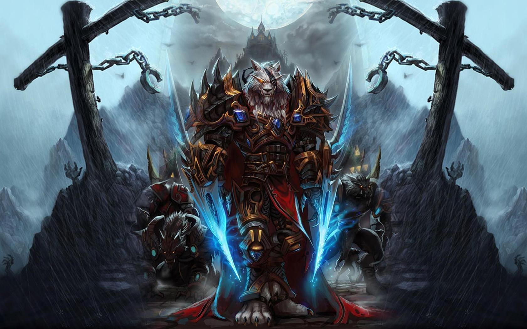 Monters Warcraft Wallpaper Games