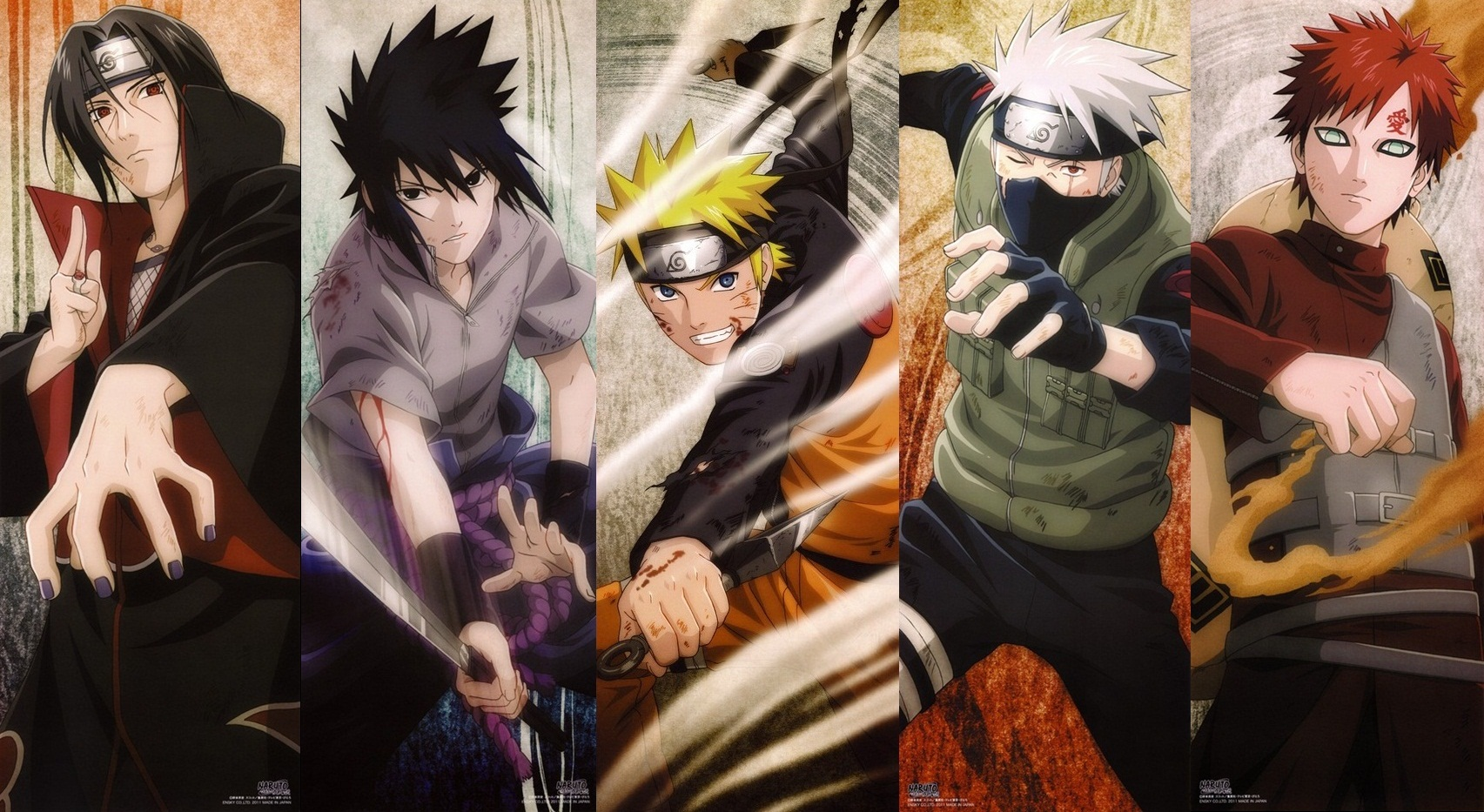 Naruto Shippuden Character Wallpapers